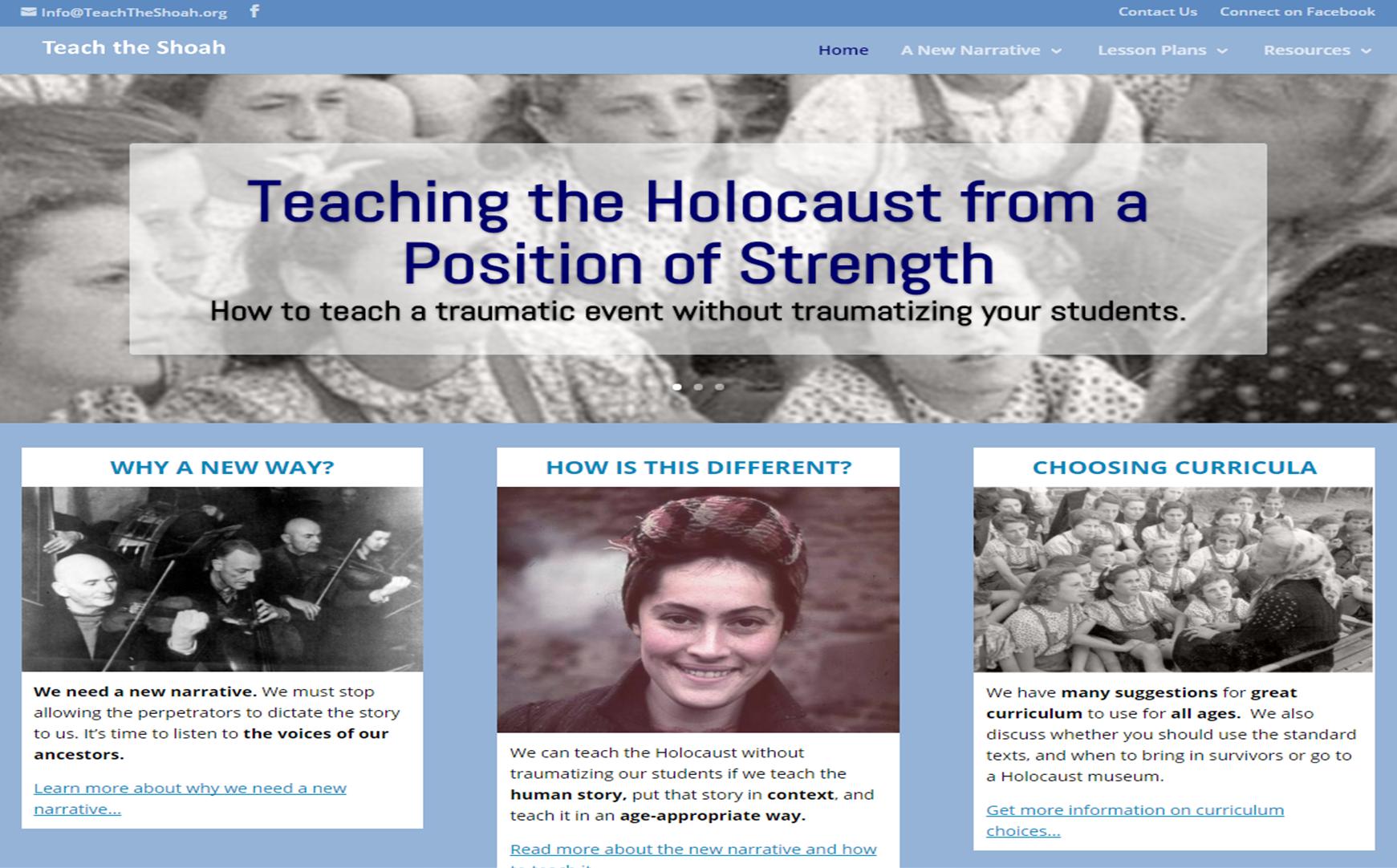 Teach the Shoah